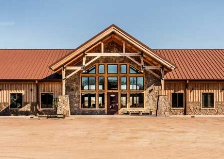 Venues, Lodges, Commercial - Legacy Post & Beam