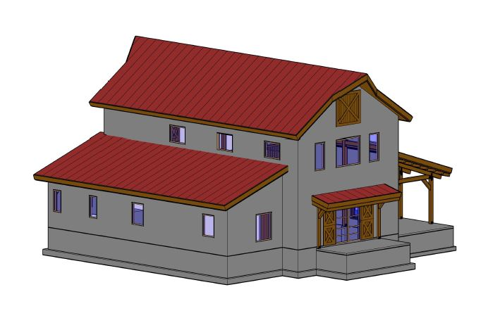 barn home kit