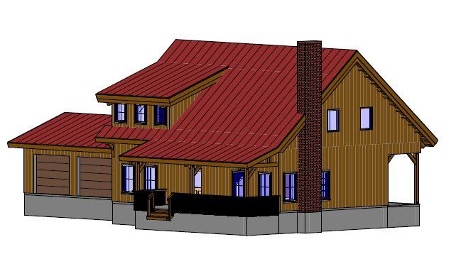 timber frame home kit