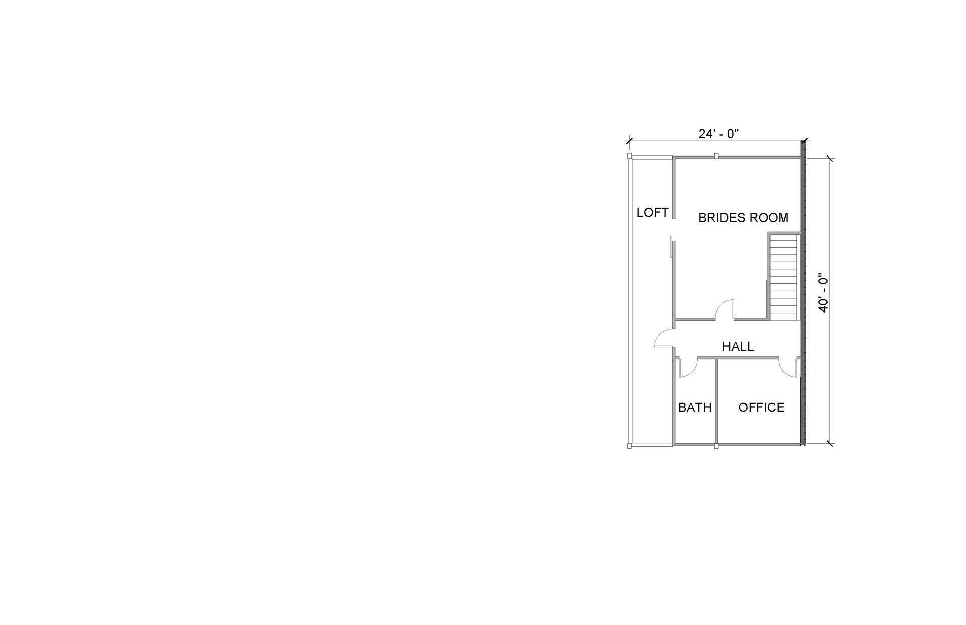 floorplan barn wedding venue loft